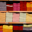 Colorful towels — Stock Photo