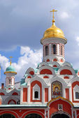 Church on Red Square in Moscow — Stock Photo