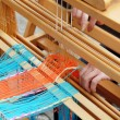 Vintage weaving — Stock Photo