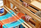 Vintage weaving — Stock Photo