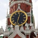 The Kremlin Spasskaya tower — Stock Photo