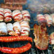 Meat on barbecue — Stock Photo #2901390