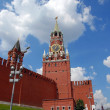 The Kremlin Spasskaya tower in Moscow — Stock Photo #2921743
