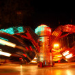 Stock Photo: Motion of lights