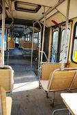 Bus inside — Stock Photo