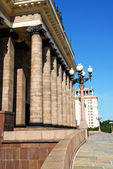 Moscow state university — Stock fotografie