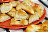 Appetizing homemade pastry — Stock Photo