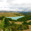 Stock Photo: Blue mountaint lake in Bosnia