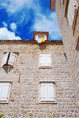 Staré kamenné město v Černé hoře - budva — Stock fotografie