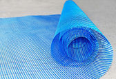 Plastic net roll — Stock Photo