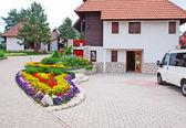 Cottage dorp — Stockfoto