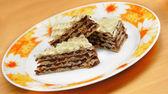 Sweet waffle cakes — Stock Photo