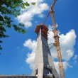 Building a TV tower in Serbia - Photo