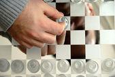 Schachbrett — Stockfoto