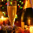 Royalty-Free Stock Photo: New year champagne