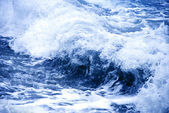 Sturm blue wave — Stockfoto