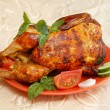 Grilled chicken — Stock Photo #3257347