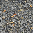 Scattered cigarette butts — Stock Photo #3314695
