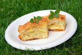 Appetizing homemade pastry — Stockfoto