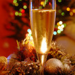 New year champagne — Foto de Stock