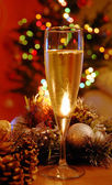 New year champagne — Foto Stock