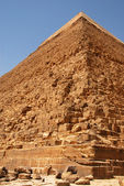 Kefren Pyramid on Giza, Cairo — Stock Photo
