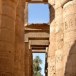 le temple de karnak en Egypte — Photo
