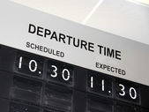 Flight Delay — Stock Photo