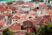 Red roofs of Kotor — Stock Photo