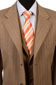 Business fashion, elegant suit — Stock Photo