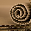 Spiral made from cardboard — Stock Photo