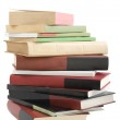 Tower books arranged in stack — Stock Photo #3316283