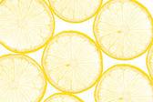 Verse gele citroen achtergrond — Stockfoto
