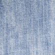 Blue denim texture — Stock Photo #3405383