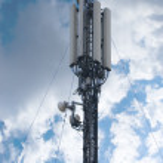Communication antena — Stock Photo