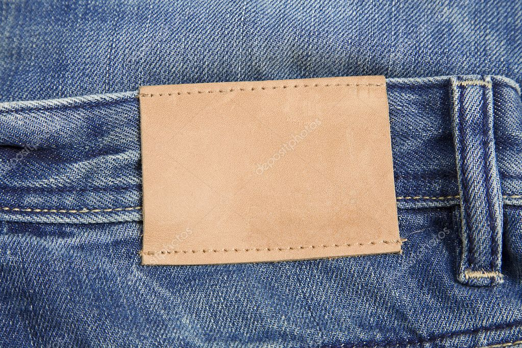 Jeans label — Stock Photo © victorO #3419928