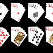 Stock Photo: Possible Combinations from Cards