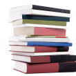 Color tower books arranged in stack — Stock Photo #3426683