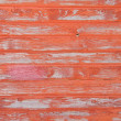 Red striped wooden with grunge paint — Stock Photo #3710290