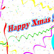 Stock Photo: Holiday Happy Xmas background