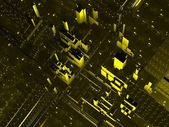 Abstrakt urban bakgrund — Stockfoto