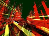 Abstract urban color luminous background — Stock Photo