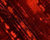 Red matrix background — Stock Photo