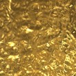 Gold foil texture - Stock Photo