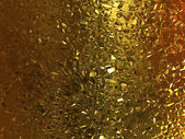 Gold crystal texture — Stock Photo