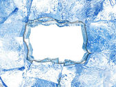 Ice frame — Stock Photo
