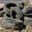 Old tires — Stock Photo #3777648