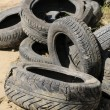 Old tires — Stock Photo #3777677