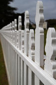 Dimishing Picket fence — Stock Photo