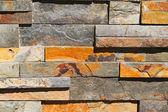 Rectangular Stone Wall — Stock Photo